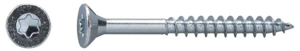 Dresselhaus 0//1137//001//5,0//40// //03 JD-79-Universalschraube mit Senkkopf und Fr/äsrippen I-Stern und Teilgewinde galvanisch verzinkt 5 x 40 500 St/ück 5 x 40 mm
