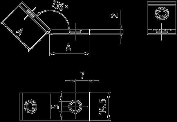 7765 metallwinkel stuhlbeinwinkel gebogen auf 135 grad. Black Bedroom Furniture Sets. Home Design Ideas