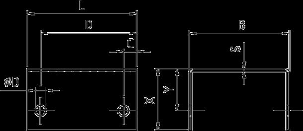 7920 stahlwinkel u form mit bohrungen produktshop dresselhaus bestell und informationssystem. Black Bedroom Furniture Sets. Home Design Ideas